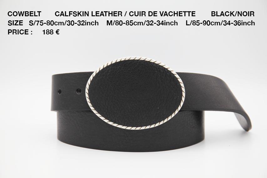 COWBELT BLACK 188€
