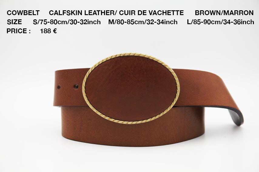 COWBELT BROWN 188€