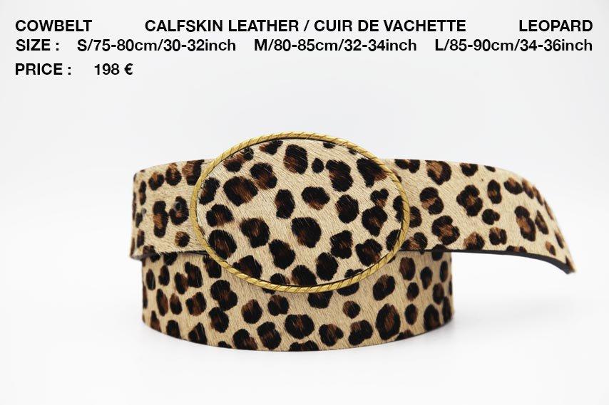 COWBELT LEOPARD 198€